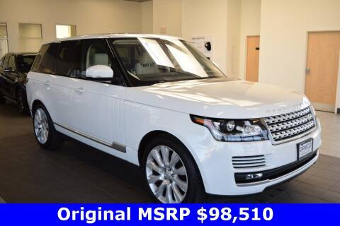 2017 Land Rover Range Rover for sale at BMW OF NEWPORT in Middletown RI