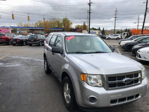 2011 Ford Escape for sale at Drive Max Auto Sales in Warren MI