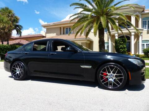 2014 BMW 7 Series for sale at Lifetime Automotive Group in Pompano Beach FL
