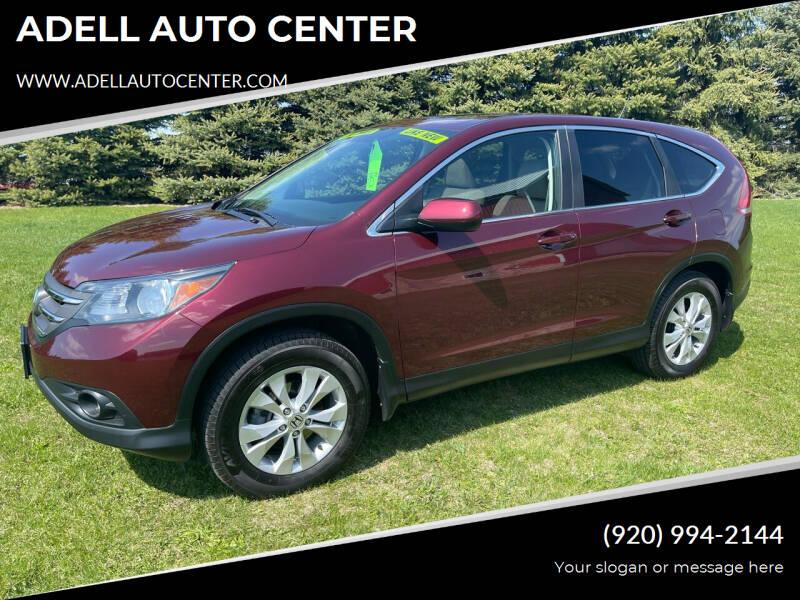 2014 Honda CR-V for sale at ADELL AUTO CENTER in Waldo WI