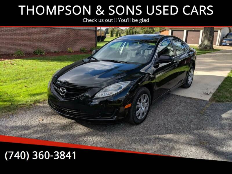 2009 Mazda MAZDA6 for sale at THOMPSON & SONS USED CARS in Marion OH