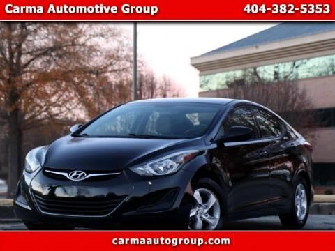 2014 Hyundai Elantra for sale at Carma Auto Group in Duluth GA