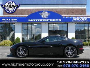 2016 Ferrari California T for sale at Highline Group Motorsports in Lowell MA