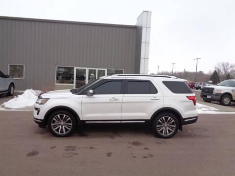 2018 Ford Explorer for sale at Herman Motors in Luverne MN