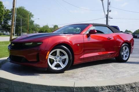 2021 Chevrolet Camaro for sale at Platinum Motors LLC in Heath OH