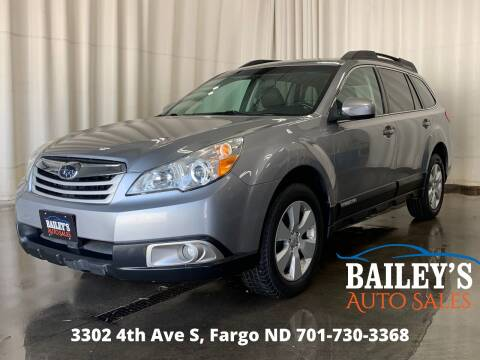 2011 Subaru Outback for sale at Bailey's Auto Sales in Fargo ND