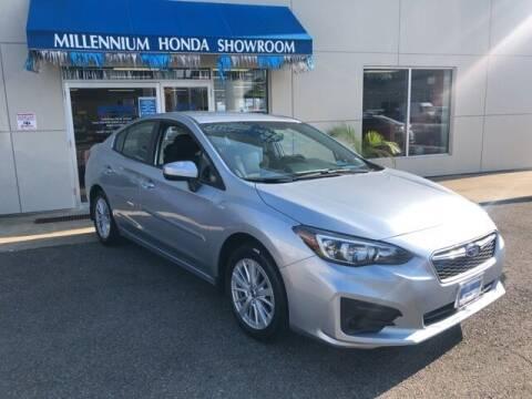 2018 Subaru Impreza for sale at MILLENNIUM HONDA in Hempstead NY