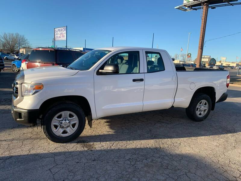 2015 Toyota Tundra for sale at Superior Used Cars LLC in Claremore OK