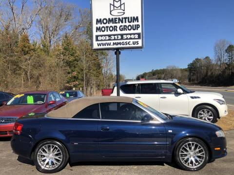 2009 Audi A4 for sale at Momentum Motor Group in Lancaster SC