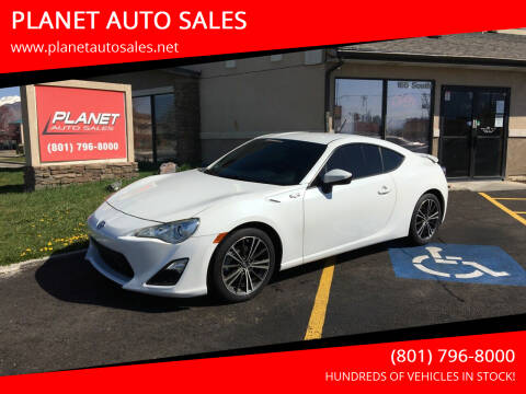 2014 Scion FR-S for sale at PLANET AUTO SALES in Lindon UT