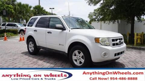 2010 Ford Escape Hybrid for sale at JumboAutoGroup.com - Anythingonwheels.com in Oakland Park FL