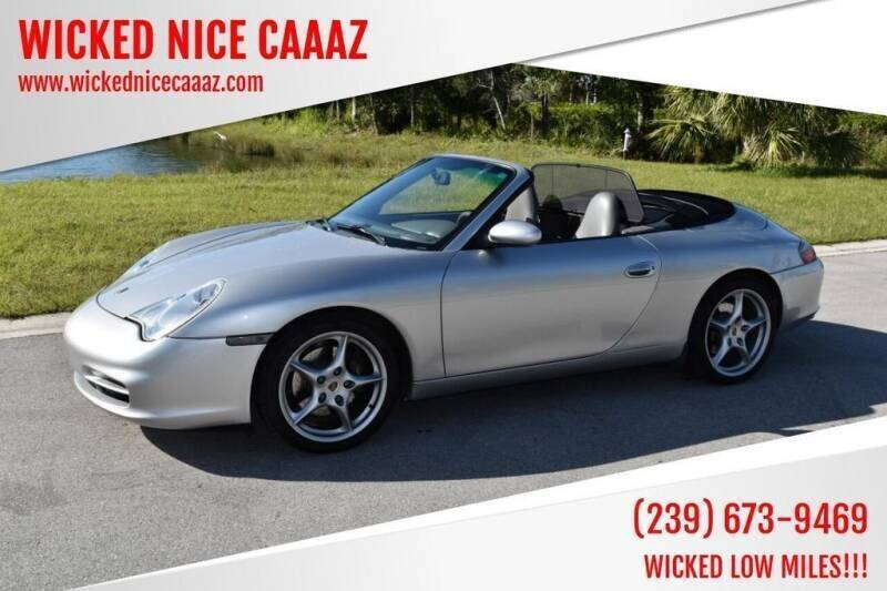 2003 Porsche 911 for sale at WICKED NICE CAAAZ in Cape Coral FL