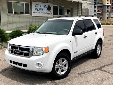 2008 Ford Escape Hybrid for sale at Clean Fuels Utah in Orem UT