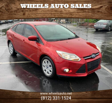 2012 Ford Focus for sale at Wheels Auto Sales in Bloomington IN