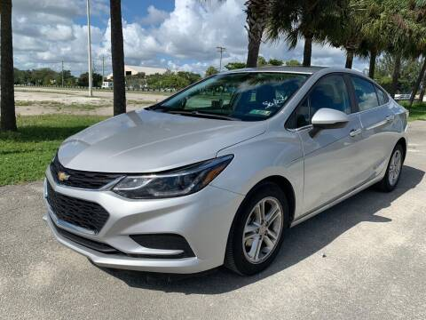 2016 Chevrolet Cruze for sale at IRON CARS in Hollywood FL