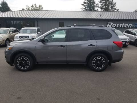 2020 Nissan Pathfinder for sale at ROSSTEN AUTO SALES in Grand Forks ND