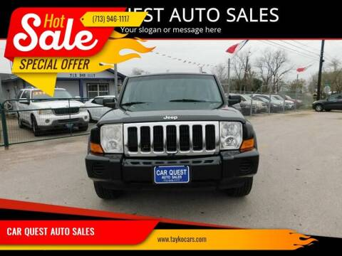 2007 Jeep Commander for sale at CAR QUEST AUTO SALES in Houston TX