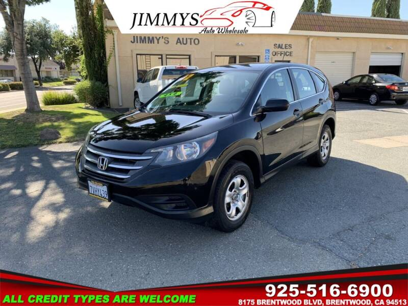 2012 Honda CR-V for sale at JIMMY'S AUTO WHOLESALE in Brentwood CA