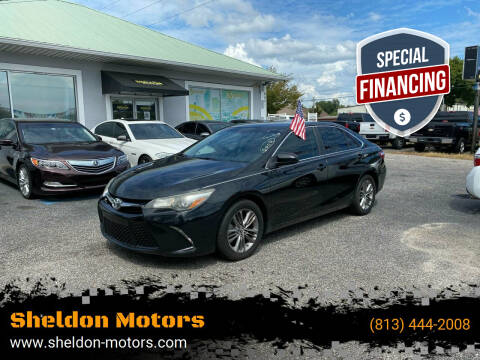 2015 Toyota Camry for sale at Sheldon Motors in Tampa FL