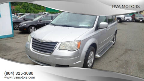 2010 Chrysler Town and Country for sale at RVA MOTORS in Richmond VA