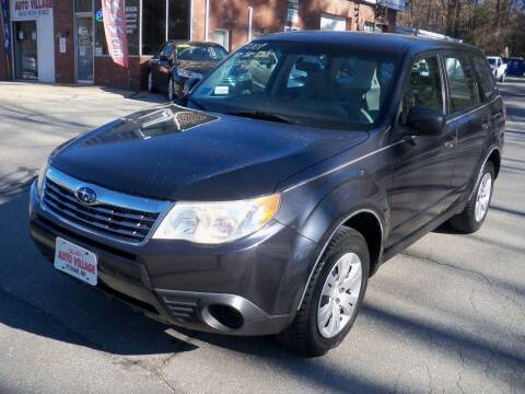2009 Subaru Forester for sale at Charlies Auto Village in Pelham NH