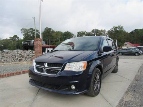 2017 Dodge Grand Caravan for sale at J T Auto Group in Sanford NC