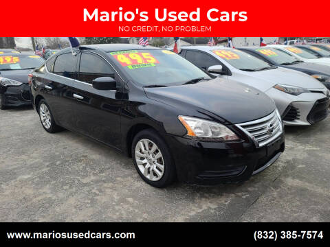 2015 Nissan Sentra for sale at Mario's Used Cars - South Houston Location in South Houston TX