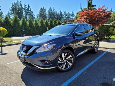 2015 Nissan Murano for sale at Silver Star Auto in Lynnwood WA