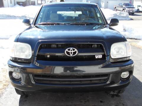 2007 Toyota Sequoia for sale at GLOBAL AUTOMOTIVE in Gages Lake IL
