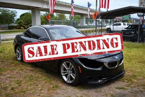 2018 BMW 4 Series for sale at ELITE MOTOR CARS OF MIAMI in Miami FL