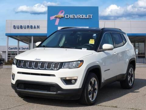 2018 Jeep Compass for sale at Suburban Chevrolet of Ann Arbor in Ann Arbor MI