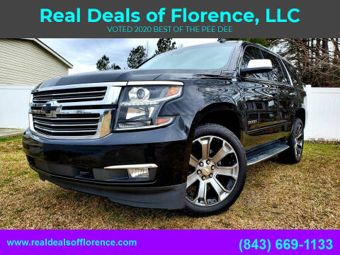 2017 Chevrolet Tahoe for sale at Real Deals of Florence, LLC in Effingham SC