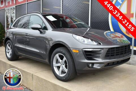 2018 Porsche Macan for sale at Alfa Romeo & Fiat of Strongsville in Strongsville OH