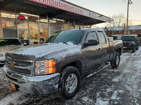 2012 Chevrolet Silverado 1500 for sale at EL SOL AUTO MART in Franklin Park IL