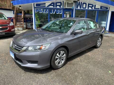 2013 Honda Accord for sale at Car World Inc in Arlington VA