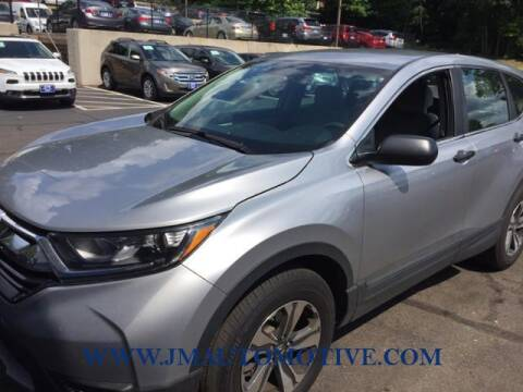 2018 Honda CR-V for sale at J & M Automotive in Naugatuck CT