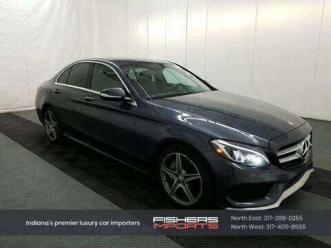 2015 Mercedes-Benz C-Class for sale at Fishers Imports in Fishers IN