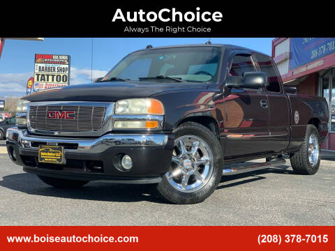 2005 GMC Sierra 1500 for sale at AutoChoice in Boise ID