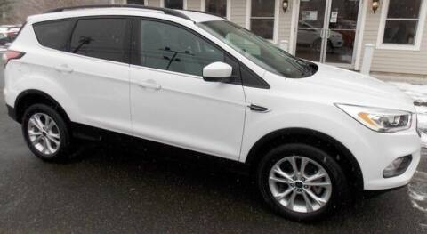 2017 Ford Escape for sale at Bachettis Auto Sales in Sheffield MA