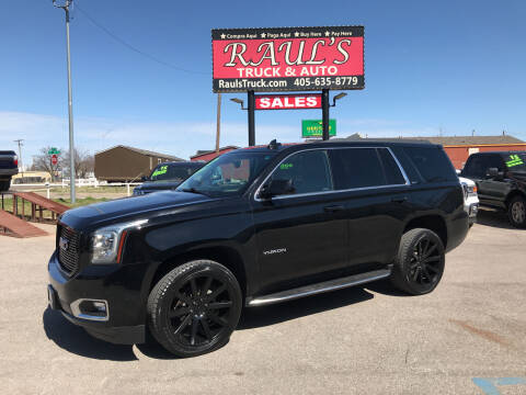2017 GMC Yukon for sale at RAUL'S TRUCK & AUTO SALES, INC in Oklahoma City OK