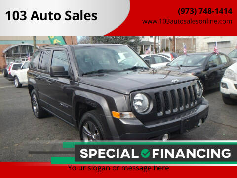 2015 Jeep Patriot for sale at 103 Auto Sales in Bloomfield NJ