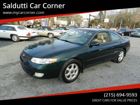2000 Toyota Camry Solara for sale at Saldutti Car Corner in Gilbertsville PA