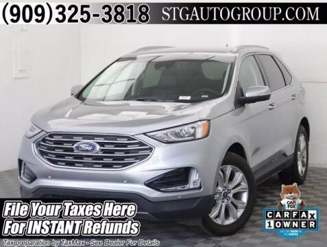 2020 Ford Edge for sale at STG Auto Group in Montclair CA