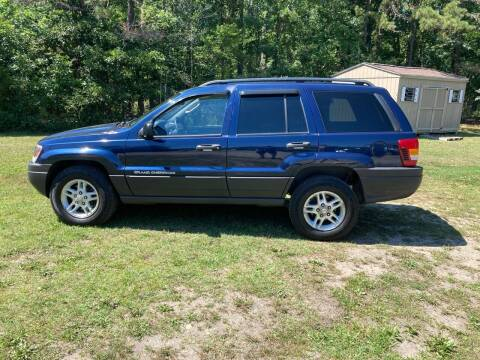 2004 Jeep Grand Cherokee for sale at MIKE B CARS LTD in Hammonton NJ