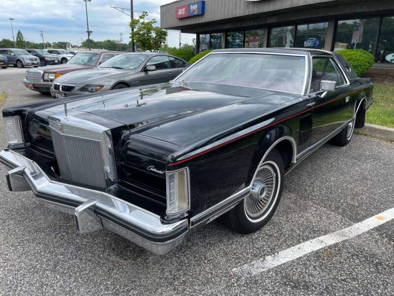 1977 Lincoln MARK FIVE EDITION for sale at Black Tie Classics in Stratford NJ