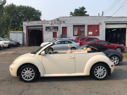 2005 Volkswagen New Beetle Convertible for sale at Dan's Auto Sales and Repair LLC in East Hartford CT