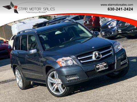2012 Mercedes-Benz GLK for sale at Star Motor Sales in Downers Grove IL