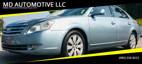 2005 Toyota Avalon for sale at MD AUTOMOTIVE LLC in Slidell LA