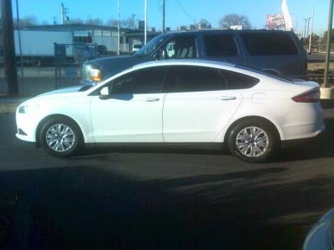 2014 Ford Fusion for sale at University Auto Sales Inc in Pocatello ID