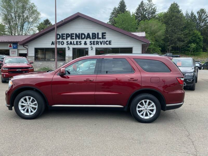 2019 Dodge Durango for sale at Dependable Auto Sales and Service in Binghamton NY